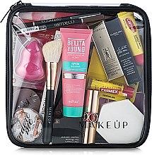 """Voňavky, Parfémy, kozmetika Kozmetická taška priehľadná """"Visible Bag"""" 20x20x8 cm (bez kozmetických prostriedkov) - MakeUp"""