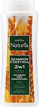 Voňavky, Parfémy, kozmetika Šampón-kondicionér s pšenicou na suché a farbené vlasy - Joanna Naturia Shampoo With Conditioner With Wheat