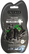 "Voňavky, Parfémy, kozmetika Maska na tvár ""Čierny cukor"" - Freeman Feeling Beautiful Charcoal & Black Sugar Polishing Mask (mini)"