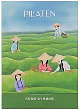 """Voňavky, Parfémy, kozmetika Zmatňujúce utierky na tvár """"Zelený čaj"""" - Pil'aten Green Tea Native Blotting Paper"""