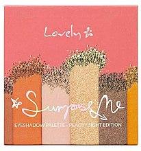 Voňavky, Parfémy, kozmetika Paleta tieňov - Lovely Surprise Me Eyeshadow Palette Peachy Sight Edition
