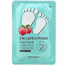 Voňavky, Parfémy, kozmetika Maska na nohy - Tony Moly I'm Lovely Peach Foot Mask