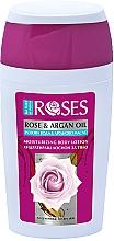 Voňavky, Parfémy, kozmetika Lotion na telo s ružovou vodou - Nature of Agiva Roses Body Lotion