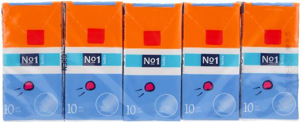 Sada kozmetických vreckoviek, 10x10ks - Bella