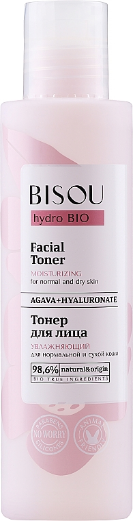 Hydratačný toner na tvár - Bisou Hydro Bio Facial Toner