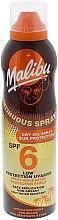 Voňavky, Parfémy, kozmetika Opaľovací suchý olej na telo - Malibu Continuous Dry Oil Spray SPF 6