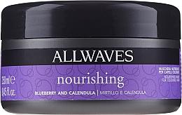 Voňavky, Parfémy, kozmetika Výživná maska po farbení s výťažkami bobúľ a nechtíka - Allwaves Blueberry And Calendula Nourishing Mask