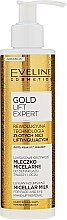 Voňavky, Parfémy, kozmetika Luxusné mlieko na odstránenie očného make-upu - Eveline Cosmetics Gold Lift Expert