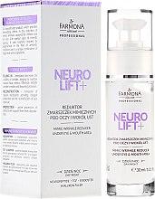 Voňavky, Parfémy, kozmetika Krém na viečka - Farmona Neuro Lift+ Mimic Wrinkle Reducer