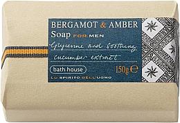 Voňavky, Parfémy, kozmetika Bath House Bergamot & Amber - Mydlo