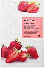 Voňavky, Parfémy, kozmetika Látková maska s extraktom jahody - Mizon Joyful Time Essence Mask Strawberry