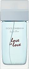 Voňavky, Parfémy, kozmetika Dolce & Gabbana Light Blue Love is Love Pour Femme - Toaletná voda