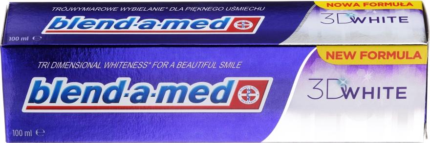 """Zubná pasta """"Trojrozmerné bielenie"""" - Blend-a-med 3D White Toothpaste"""