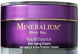 Voňavky, Parfémy, kozmetika Krém na tvár proti starnutiu kože - Minerallium Youth Source Anti-Aging Cream