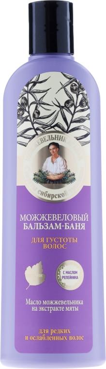 """Balsam-sauna """"Proti vypadávaniu vlasov borievkový"""" - Recepty babičky Agafy"""