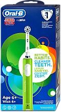Voňavky, Parfémy, kozmetika Detská elektrická zubná kefka, od 6 rokov - Oral-B Braun Junior