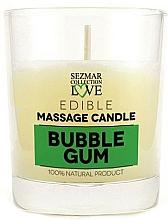"""Voňavky, Parfémy, kozmetika Prírodná masážna sviečka """"Žuvačka"""" - Sezmar Collection Bubble Gum"""