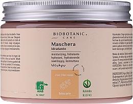 Voňavky, Parfémy, kozmetika Hydratačná maska na vlasy s červeným hroznom - BioBotanic BioCare Hydrating Mask