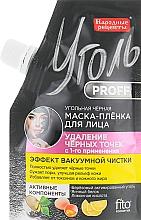 Voňavky, Parfémy, kozmetika Čierna uhlíková maska na tvár - Fito Kosmetik Uhlie Proff Ľudové recepty