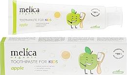 """Voňavky, Parfémy, kozmetika Detská zubná pasta """"Jablko"""" - Melica Organic Toothpaste For Kids Apple"""