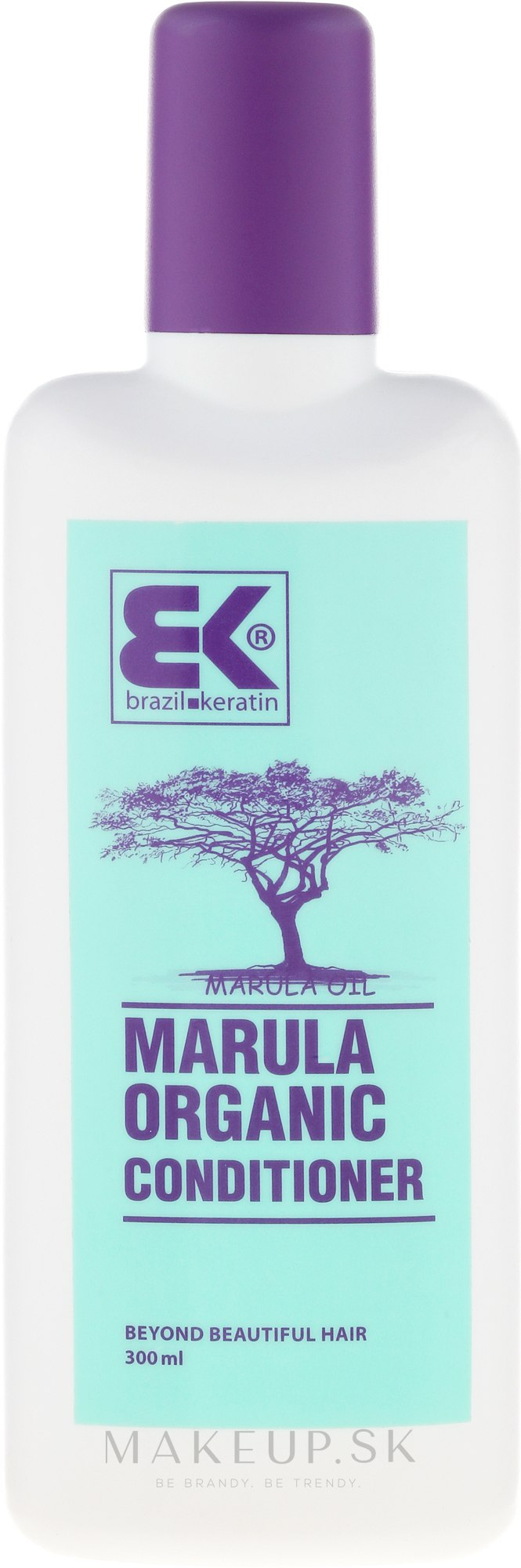 Kondicionér na vlasy - Brazil Keratin BIO Marula Organic Conditioner — Obrázky 300 ml