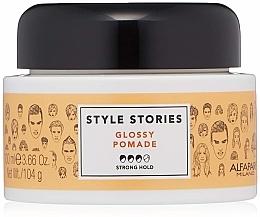 Voňavky, Parfémy, kozmetika Pomáda na vlasy so silnou fixáciou - Alfaparf Milano Style Stories Glossy Pomade Strong Hold