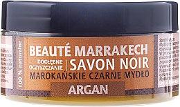 """Voňavky, Parfémy, kozmetika Prírodné čierne mydlo """"Argan"""" - Beaute Marrakech Savon Noir Moroccan Black Soap Argan"""