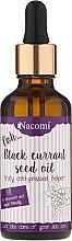 Voňavky, Parfémy, kozmetika Olej z čiernych ríbezlí s pipetou - Nacomi Black Currant Seed Oil