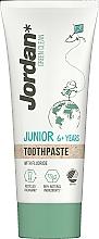 Voňavky, Parfémy, kozmetika Zubná pasta, 6-12 rokov - Jordan Green Clean Junior