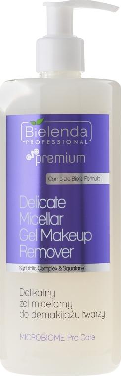 Micelárny odličovací gél - Bielenda Professional Microbiome Pro Care Delicate Micelar Gel Makeup Remover