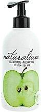 """Voňavky, Parfémy, kozmetika Telový krém výživný """"Zelené jablko"""" - Naturalium Body Lotion Green Apple"""