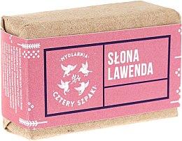 "Voňavky, Parfémy, kozmetika Mydlo ""Lavender"" - Cztery Szpaki Soap"