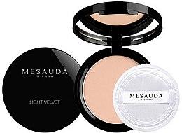 Voňavky, Parfémy, kozmetika Púder pre matnú perfektnú pokožku - Mesauda Milano Light Velvet Powder
