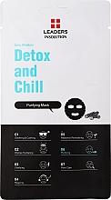 Voňavky, Parfémy, kozmetika Uhoľná čistiaca maska na tvár - Leaders Daily Wonders Detox and Chill Charcoal Purifying Mask
