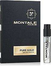 Voňavky, Parfémy, kozmetika Montale Pure Gold - Parfumovaná voda (vzorka)
