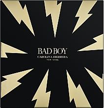 Voňavky, Parfémy, kozmetika Carolina Herrera Bad Boy - Sada (edt/100ml + sh/gel/100ml)