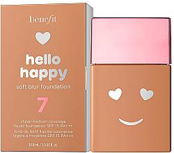 Voňavky, Parfémy, kozmetika Tekutý make-up - Benefit Hello Happy Soft Blur Foundation