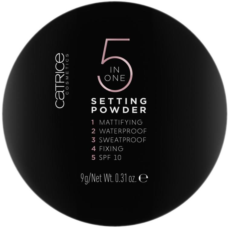 Púder pre tvár - Catrice 5 in 1 Setting Powder
