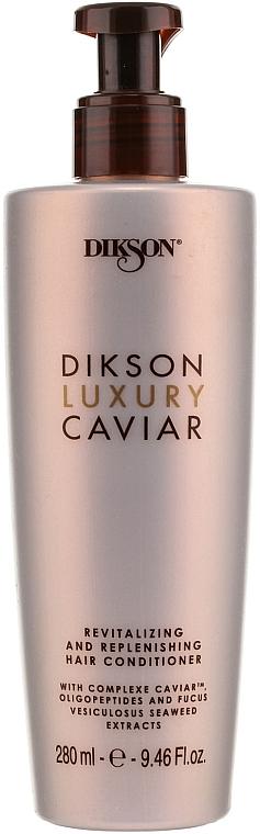 Revitalizačný a doplňujúci kondicionér - Dikson Luxury Caviar Revitalizing and Replenishing Conditioner