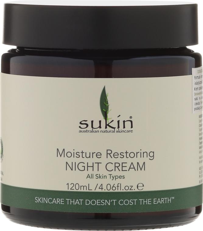 Regeneračný nočný krém - Sukin Moisture Restoring Night Cream
