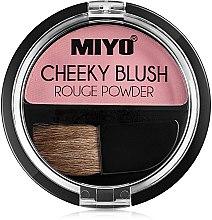 Voňavky, Parfémy, kozmetika Lícenka pre tvár - Miyo Cheeky Blush Rouge Powder
