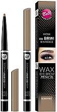 Voňavky, Parfémy, kozmetika Ceruzka-vosk na obočie - Bell Wax Eye Brow Pencil