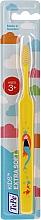 Voňavky, Parfémy, kozmetika Detská zubná kefka od 3 rokov, žltá - TePe Kids Extra Soft