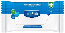 Voňavky, Parfémy, kozmetika Antibakteriálne vlhčené obrúsky, 15 ks - Aksan Deep Fresh Antibacterial Wet Wipes
