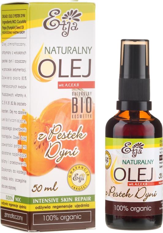 Prírodný olej z tekvicových semien - Etja Natural Oil