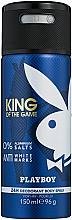 Voňavky, Parfémy, kozmetika Playboy King Of The Game - Deodorant